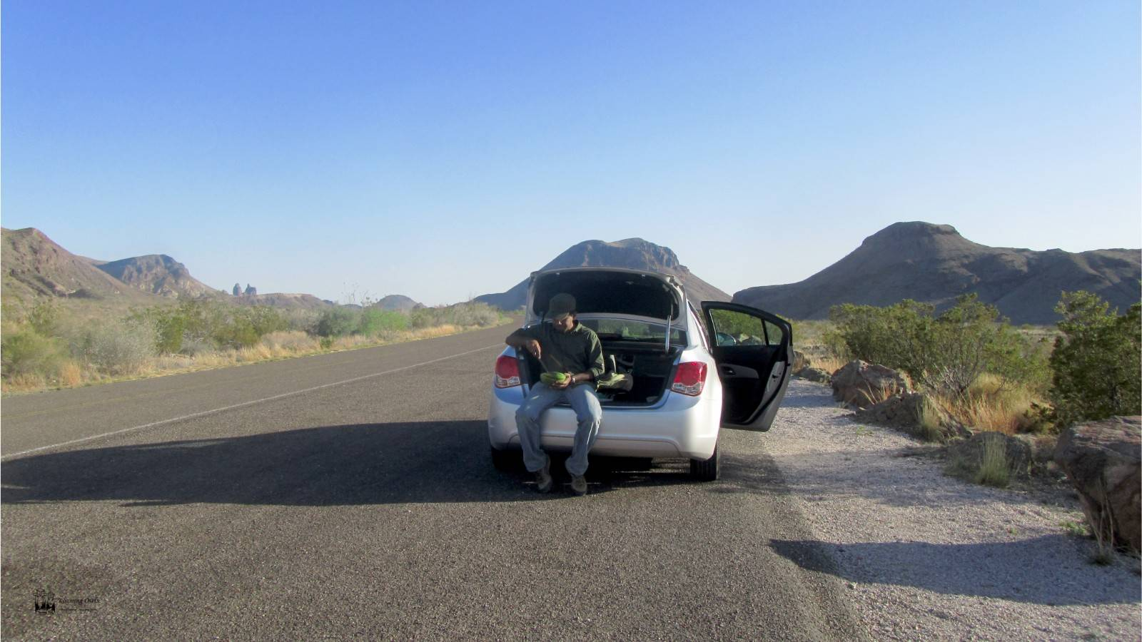 bigbend national park, texas,watermelon,hot sunny day
