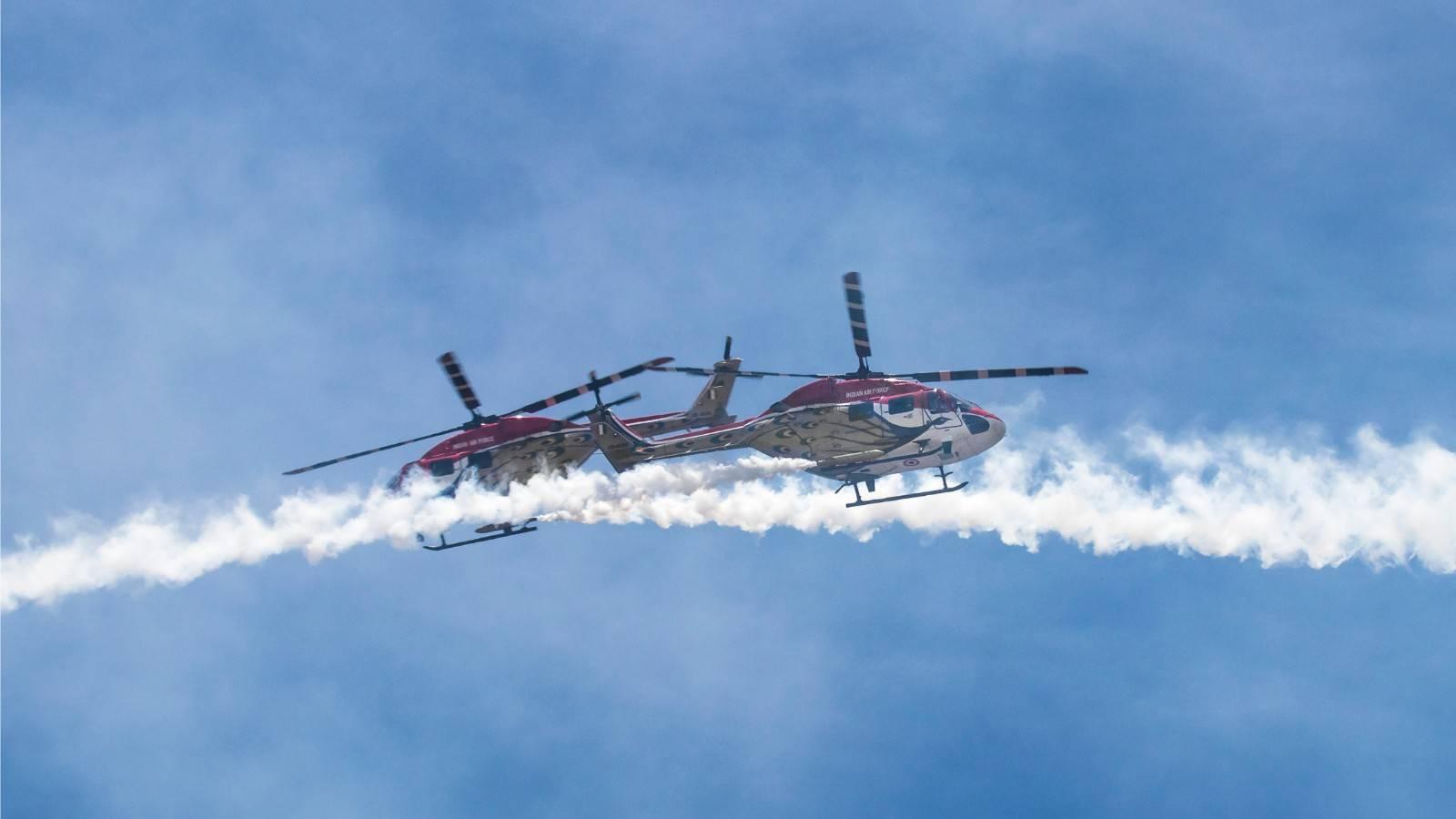 sarang team - Indian air force