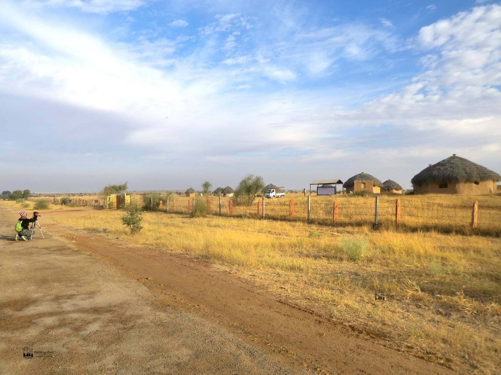 Desert National Park , entrance