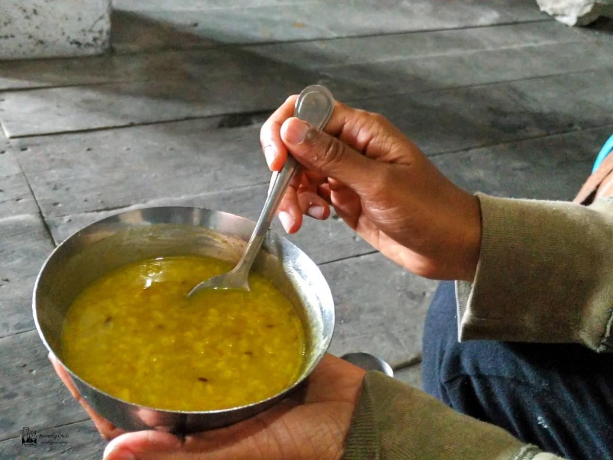 Hemkund trek,dhal soup hemkund,hemkund temple