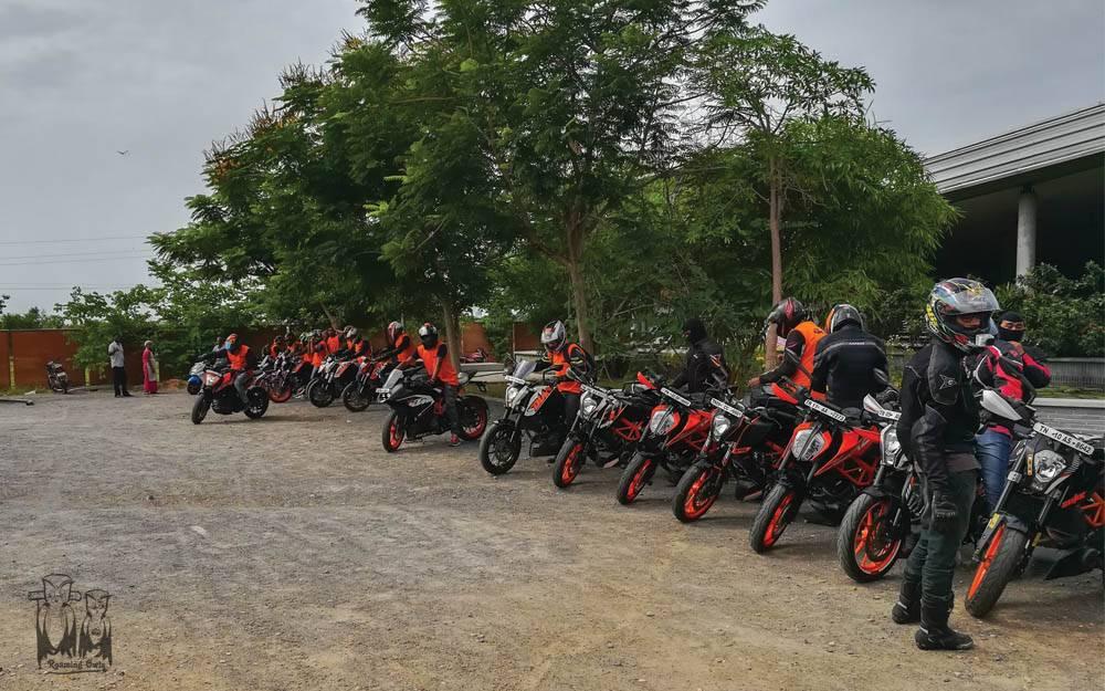 KTM bikers,Haritham restaurant