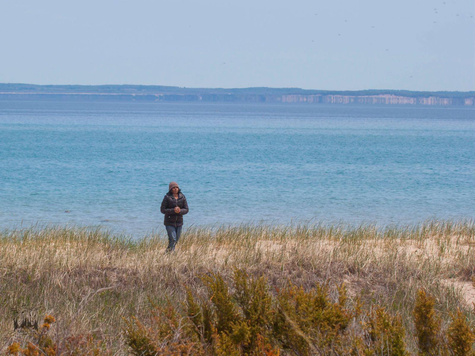 Lake Michigan Shore,North Manitou Island