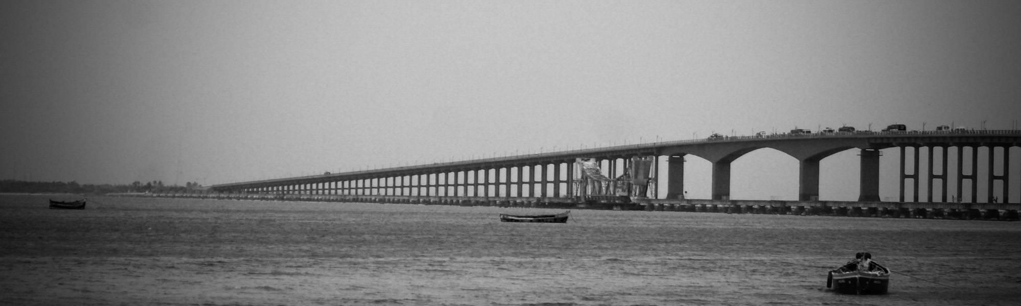 Pamban Bridge , Rameswaram
