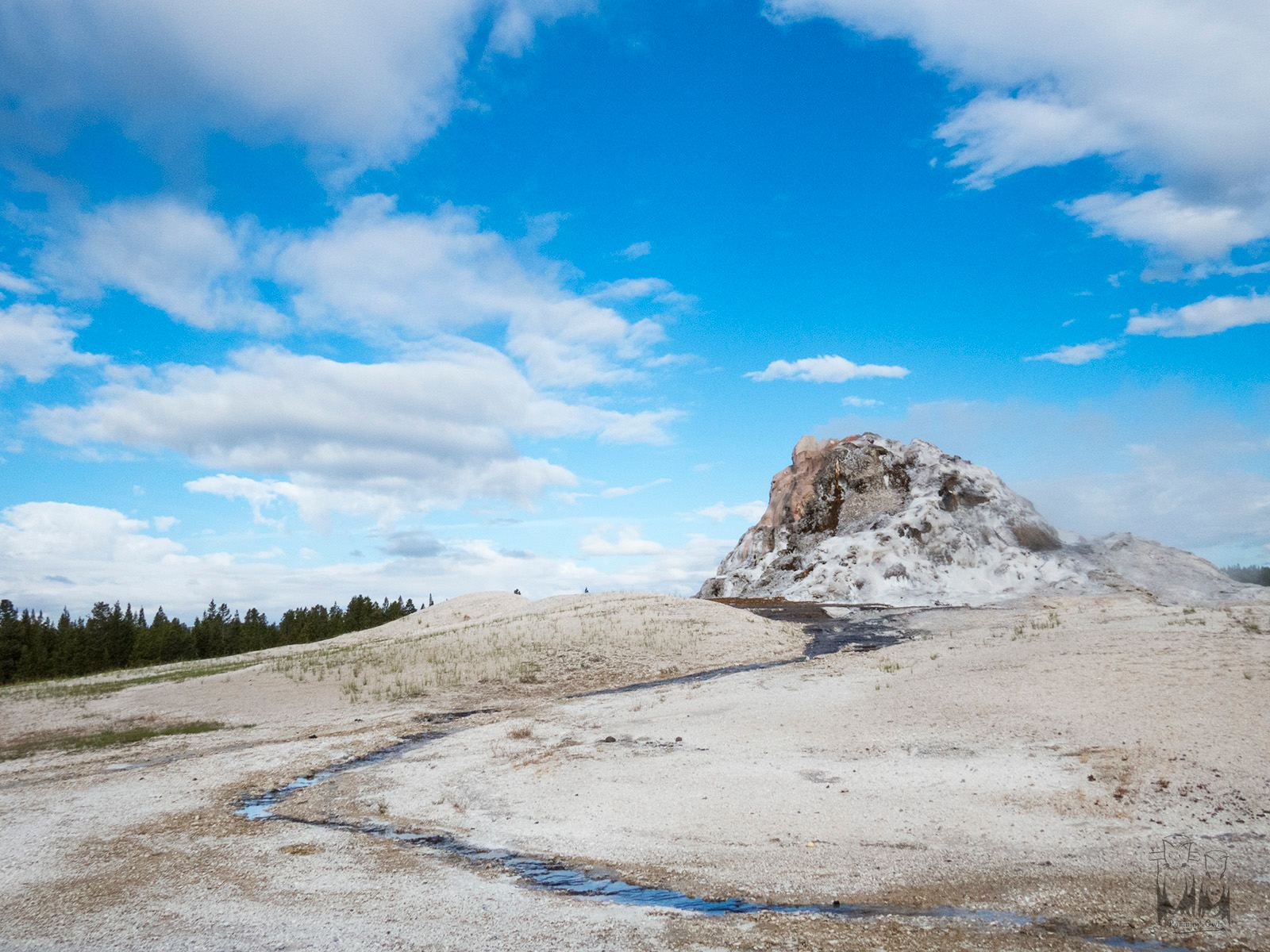 Yellow stone national park, Fumarole