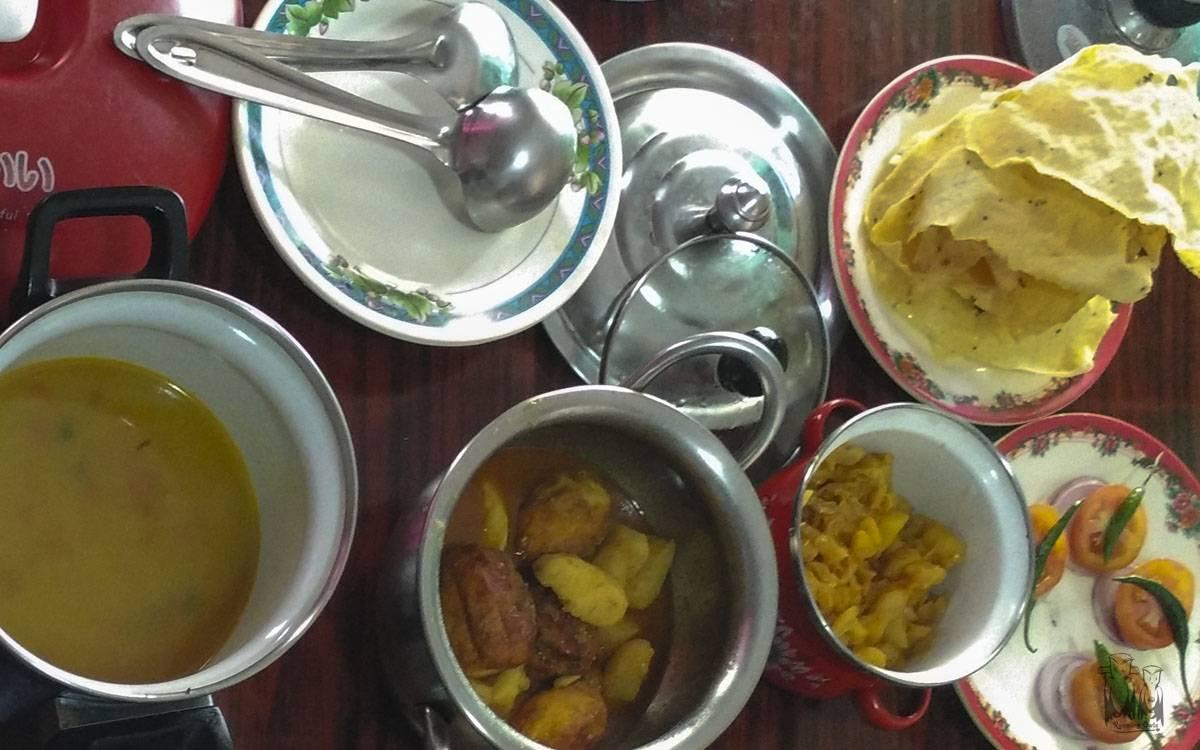 Latpanchar homestay , food