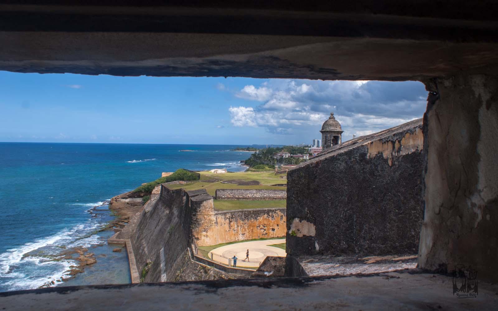 Castillo San Cristobal fort,sanjuan historical site, sanjuan fort