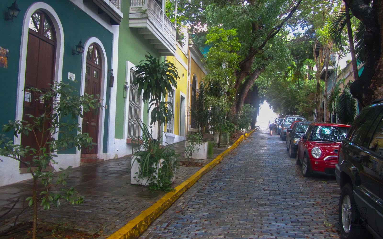 San juan shopping center,San juan heritage houses, puertorico tourism spot