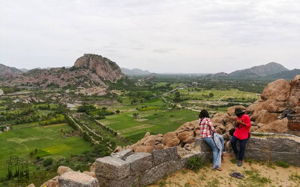 Gingee fort, Gingee viewpoint,Gohila T