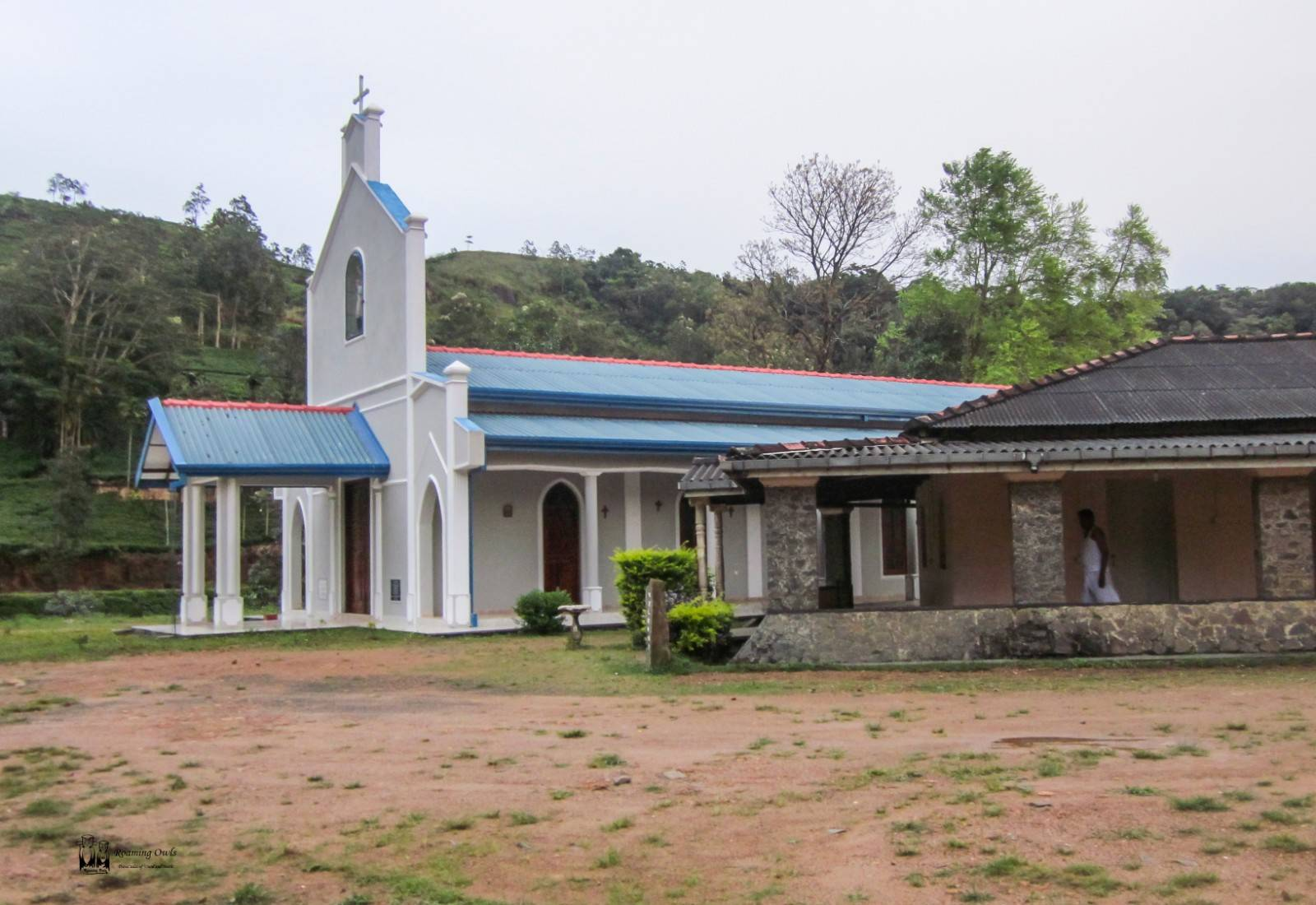 Srilanka,church,tea estate,nowwhere church