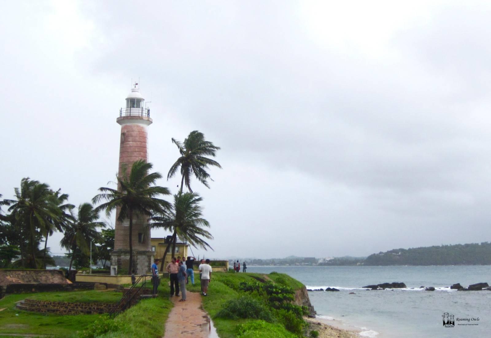 Galle,Srilanka,Watchtower,sea,rain