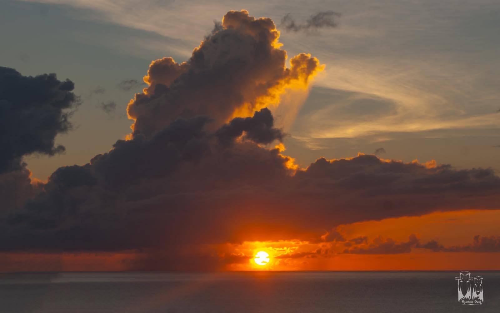 Puertorico sunrise, guanica enroute,sea sunrise