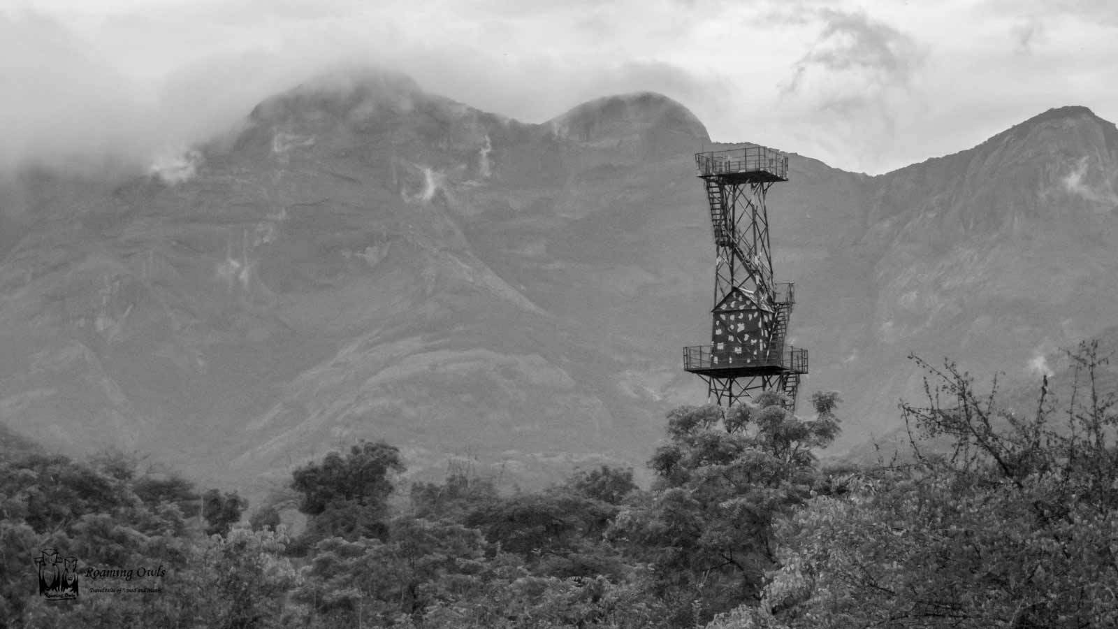 chinnar wildlife sanctuary,chinnar watch tower,western ghats watch tower